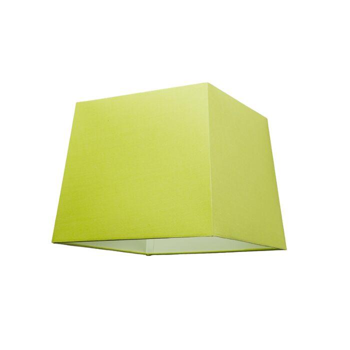 Lampenschirm-30cm-quadratisch-grün