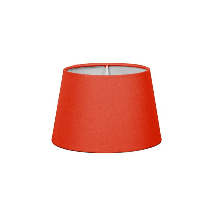 Lampenschirm-18cm-rund-SD-E27-rot