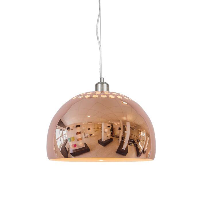 Pendelleuchte-Globe-33cm-Kupfer