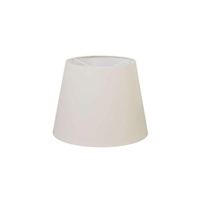 Polyester-Lampenschirm-cremeweiß-35-/-27.5