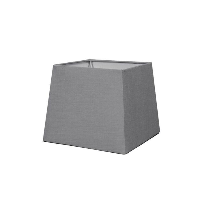 Schirm-18cm-quadratisch-SD-E27-grau