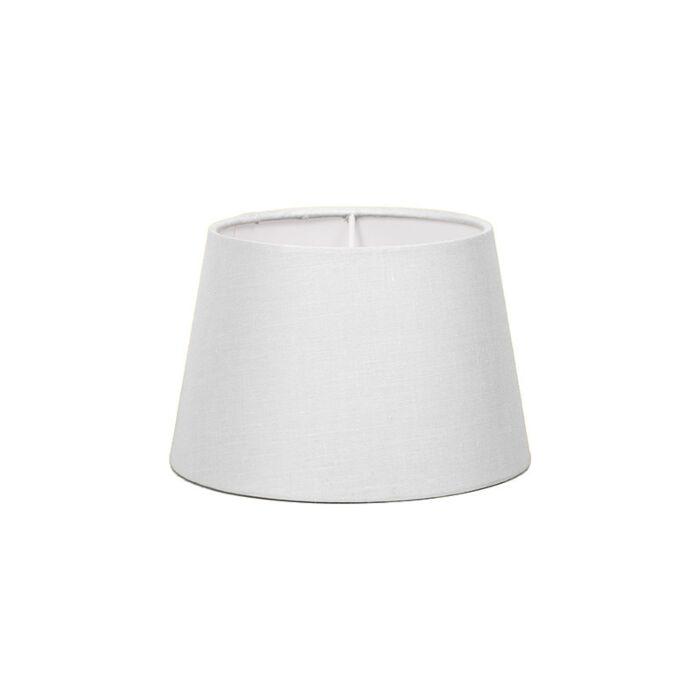 Lampenschirm-18cm-rund-SD-E27-weiß