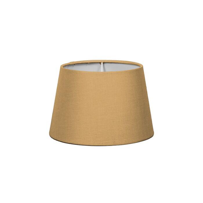 Lampenschirm-18cm-rund-SD-E27-beige