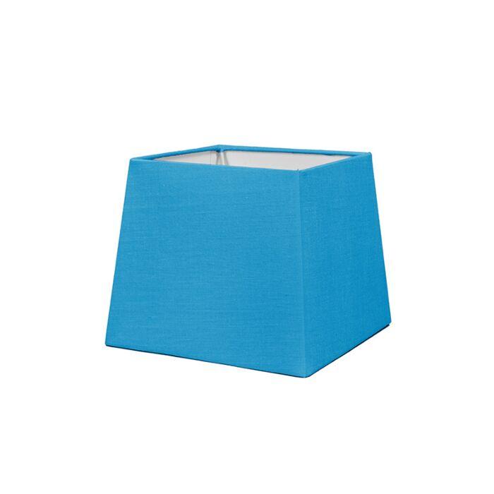 Lampenschirm-18cm-quadratisch-SD-E27-hellblau