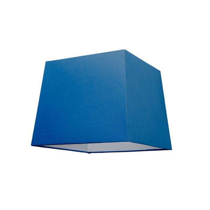 Lampenschirm-30cm-quadratisch-SU-E27-blau