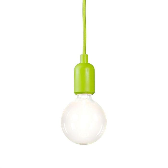 Pendelleuchte-Cava-grün