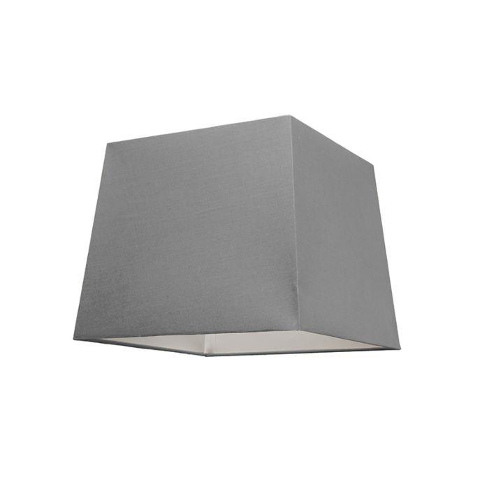 Schirm-30cm-quadratisch-SU-E27-grau