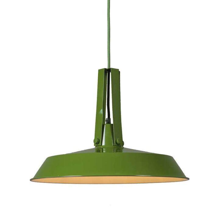 Pendelleuchte-Living-40cm-grün