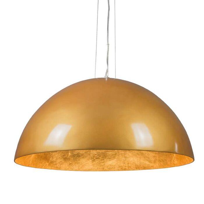 Pendelleuchte-Magna-hochglanz-70cm-gold-gold