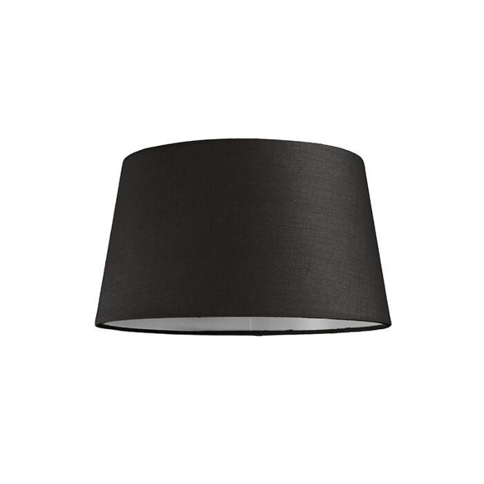 Lampenschirm-30cm-rund-SU-E27-schwarz