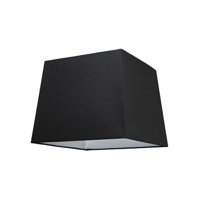 Schirm-30cm-quadratisch-SU-E27-schwarz