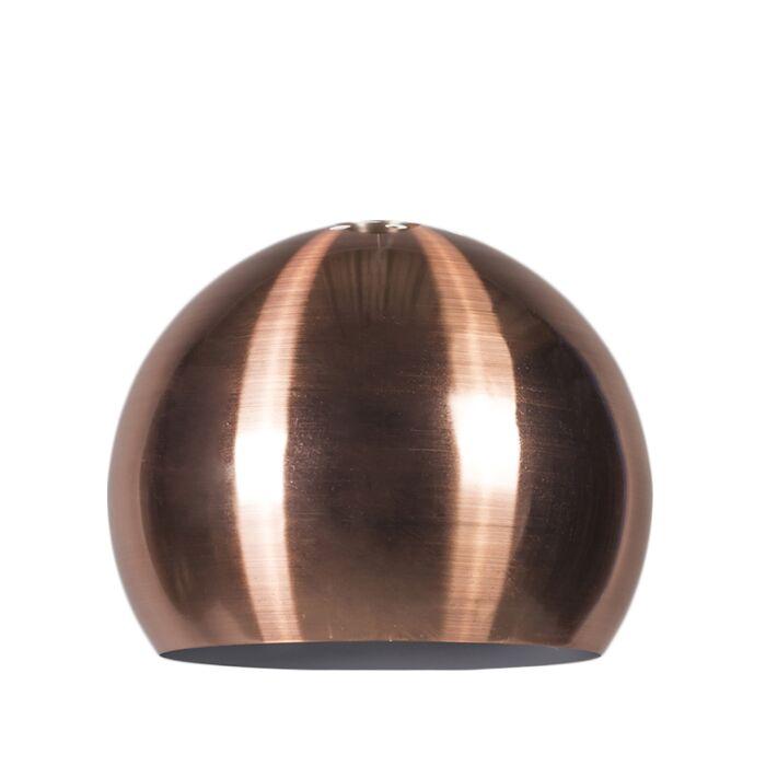 Schirm-Globe-28cm-matt-Kupfer
