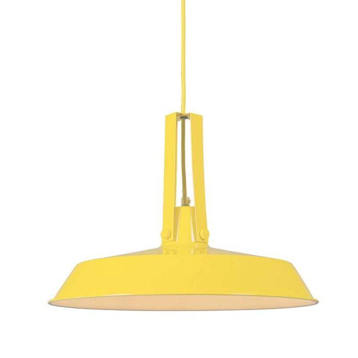 Pendelleuchte-Living-40cm-gelb