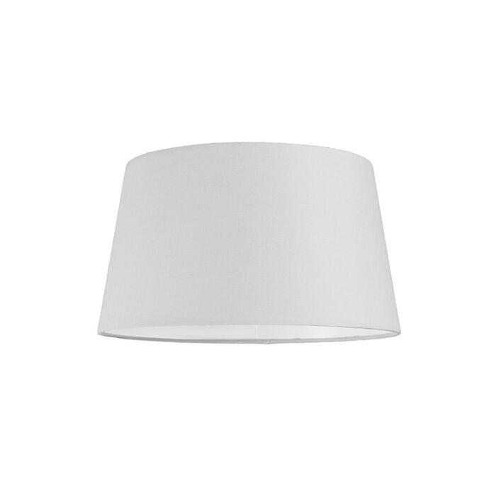 Lampenschirm-30cm-rund-SU-E27-weiß