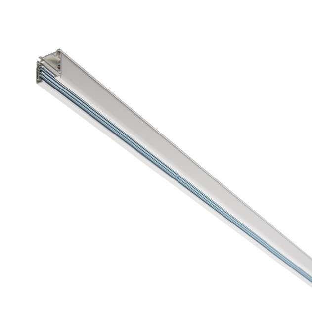 3-Phasen-Schiene-100cm-weiß
