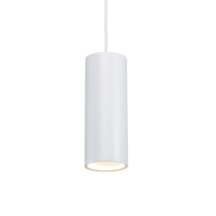Design-Hängelampe-weiß---Tubo