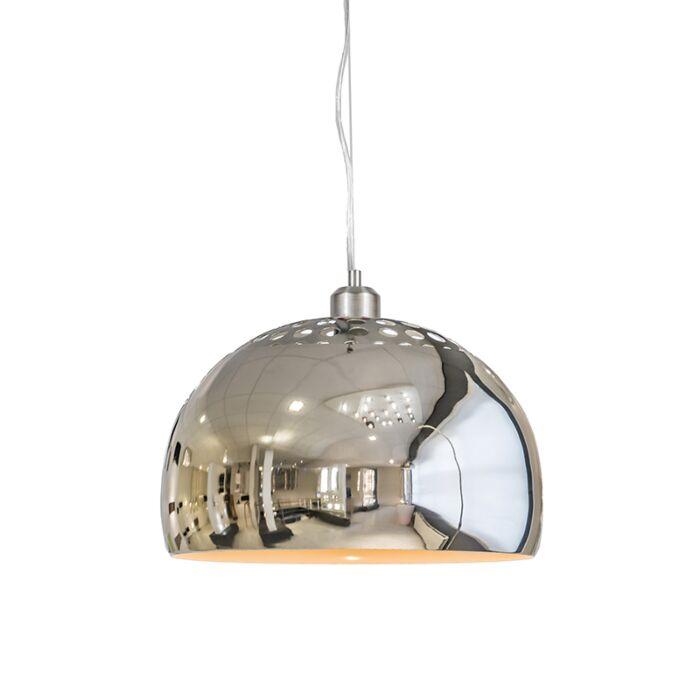 Pendelleuchte-Globe-33cm-Chrom