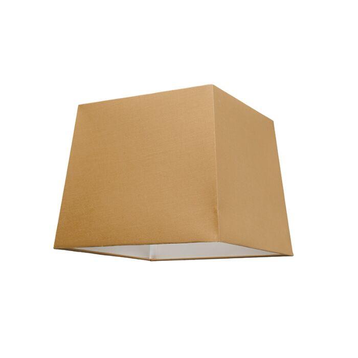Lampenschirm-30cm-quadratisch-SU-E27-beige