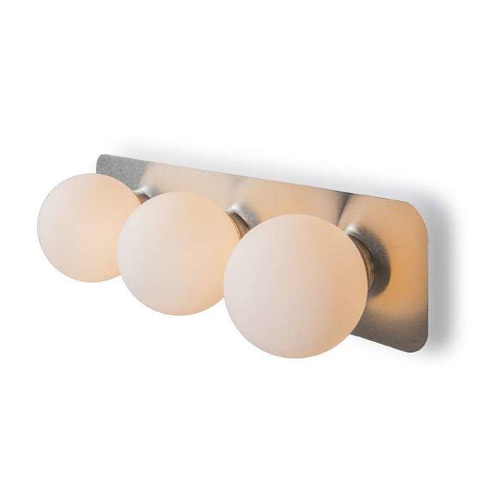 Badezimmerlampe-Wandleuchte-Kate-III-Stahl