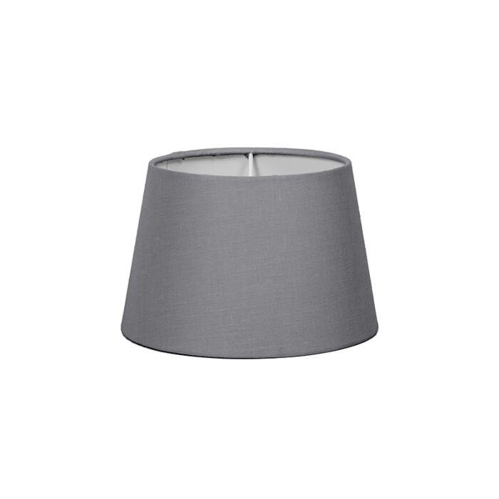 Lampenschirm-18cm-rund-SD-E27-grau