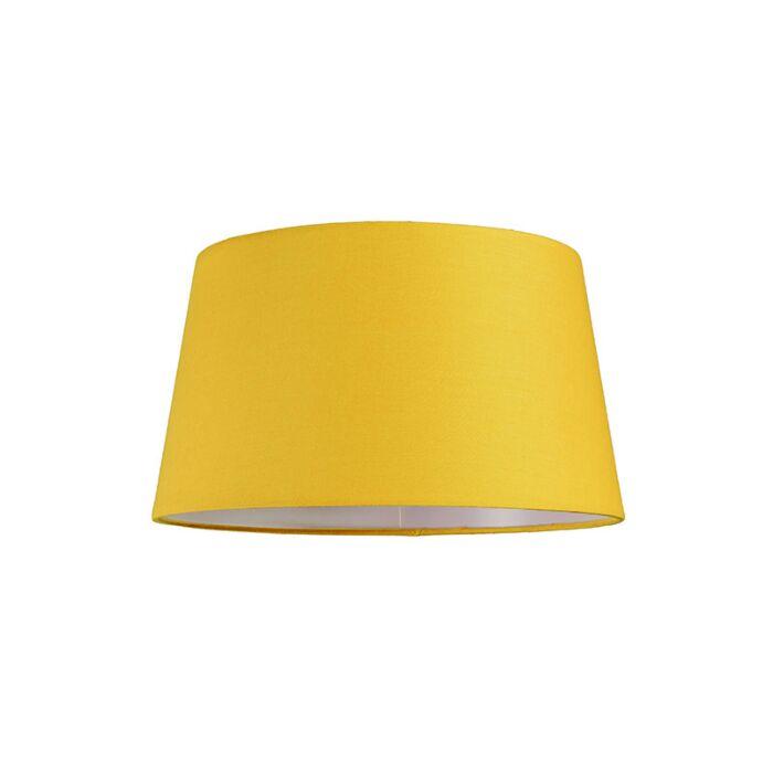 Schirm-30cm-rund-SU-E27-gelb