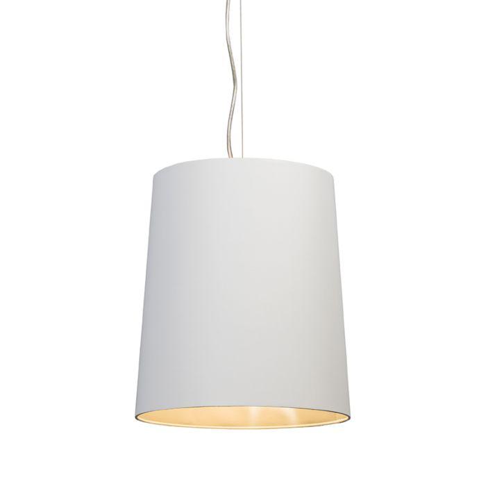 Pendelleuchte-Cappo-1-mit-Schirm-weiß-innen-silber