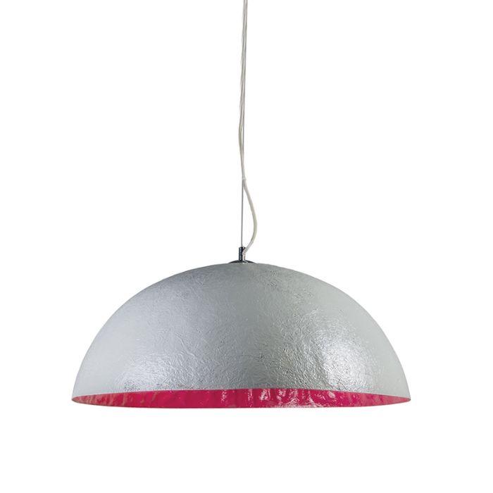 Pendelleuchte-Magna-70-grau---rosa