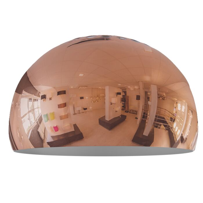Lampenschirm-Globe-33cm-kupfer