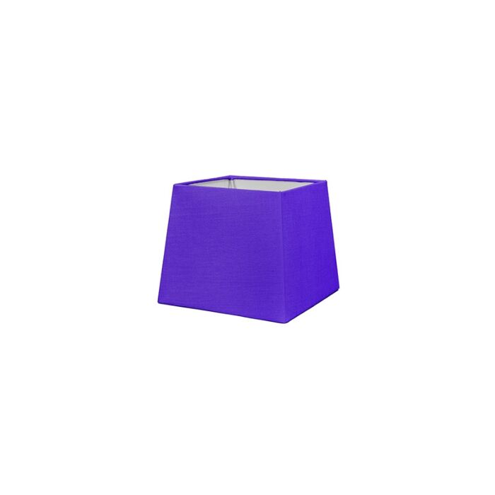 Lampenschirm-18cm-quadratisch-violett