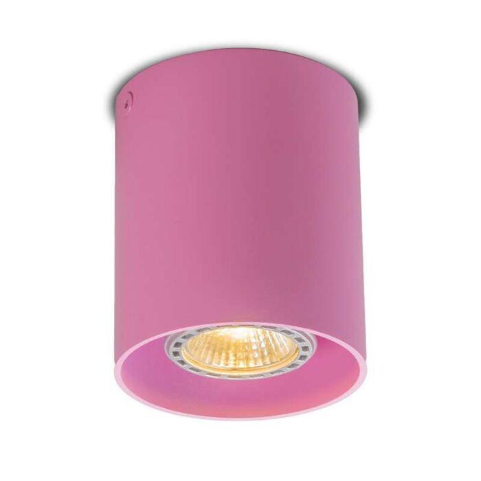 Deckenstrahler-Tubo-1-rosa