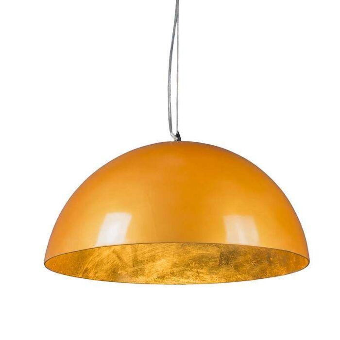 Pendelleuchte-Magna-hochglanz-55cm-gold-gold