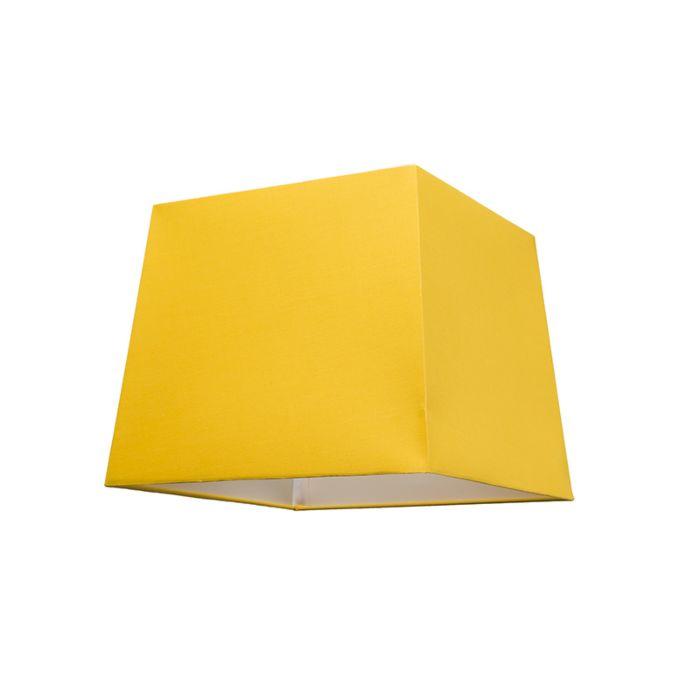 Schirm-30cm-quadratisch-SU-E27-gelb