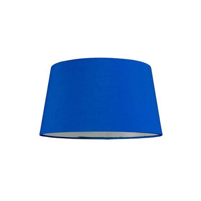 Lampenschirm-30cm-rund-SU-E27-blau