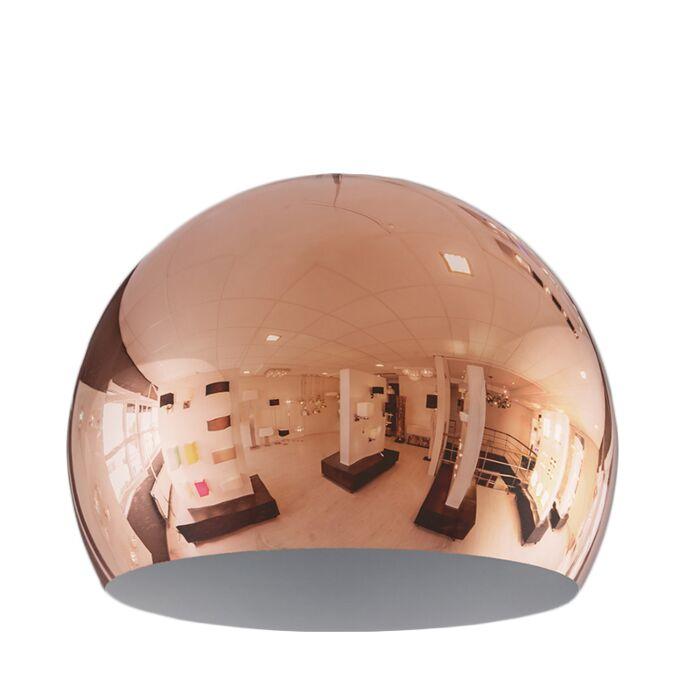 Lampenschirm-Globe-28cm-kupfer