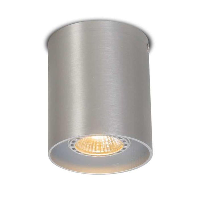 Deckenstrahler-Tubo-1-Aluminium