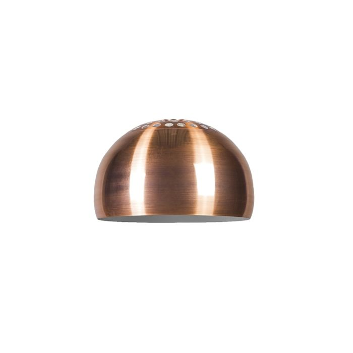 Schirm-Globe-33cm-matt-Kupfer