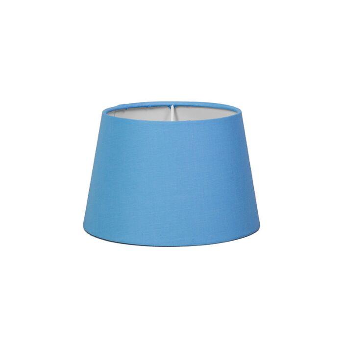 Lampenschirm-18cm-rund-SD-E27-hellblau
