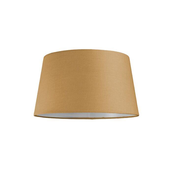 Lampenschirm-30cm-rund-SU-E27-beige