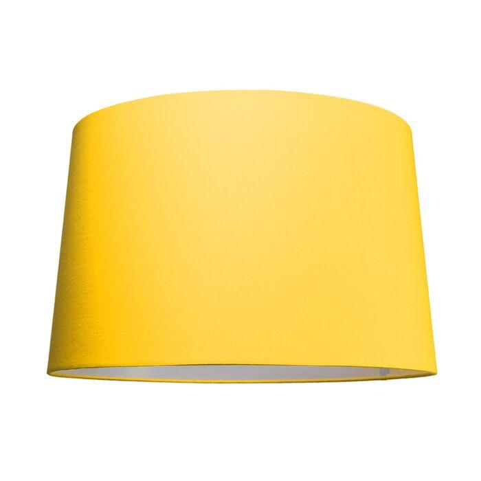 Schirm-50cm-rund-SU-E27-gelb