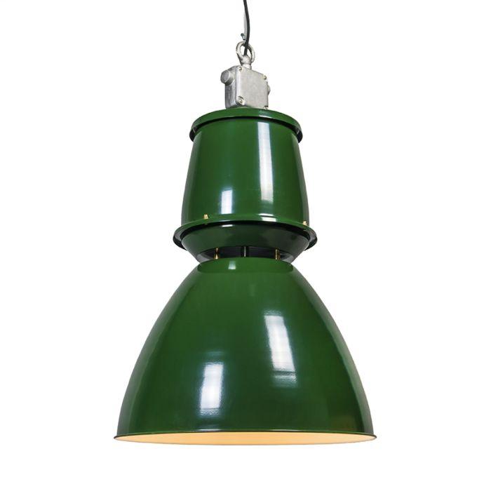Pendelleuchte-Fabryka-II-grün
