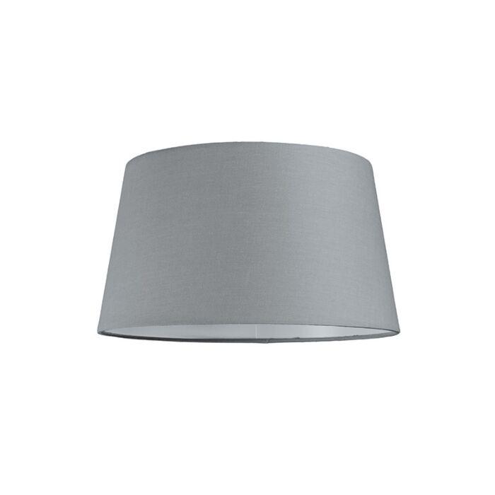 Lampenschirm-30cm-rund-SU-E27-grau