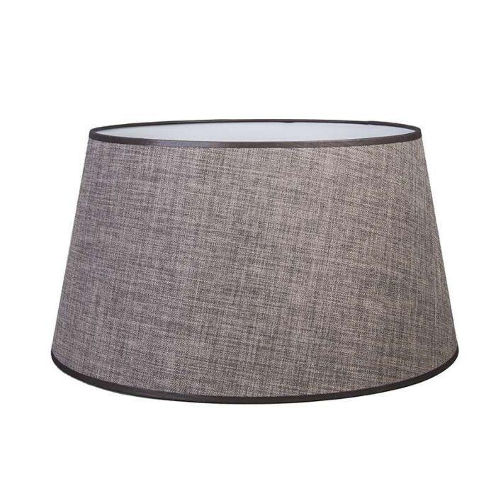 Lampenschirm-50/40/27.5-braun-grau