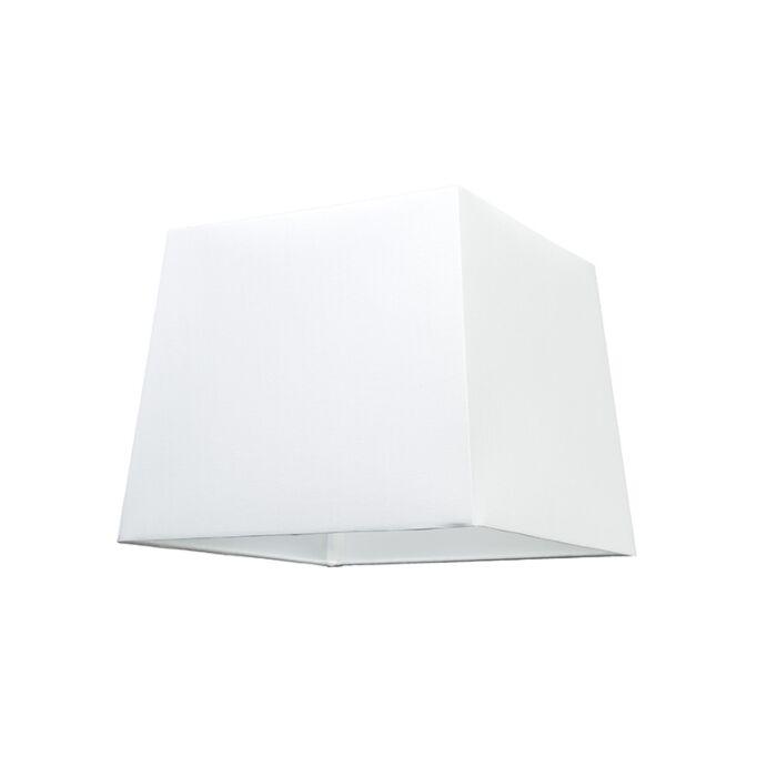 Schirm-30cm-quadratisch-SU-E27-weiß