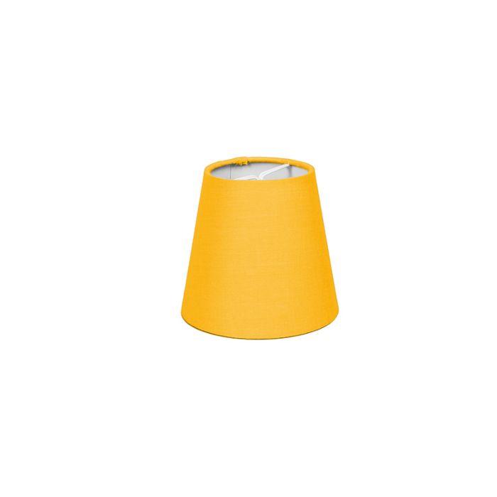 Klemmschirm-12cm-rund-SC-gelb