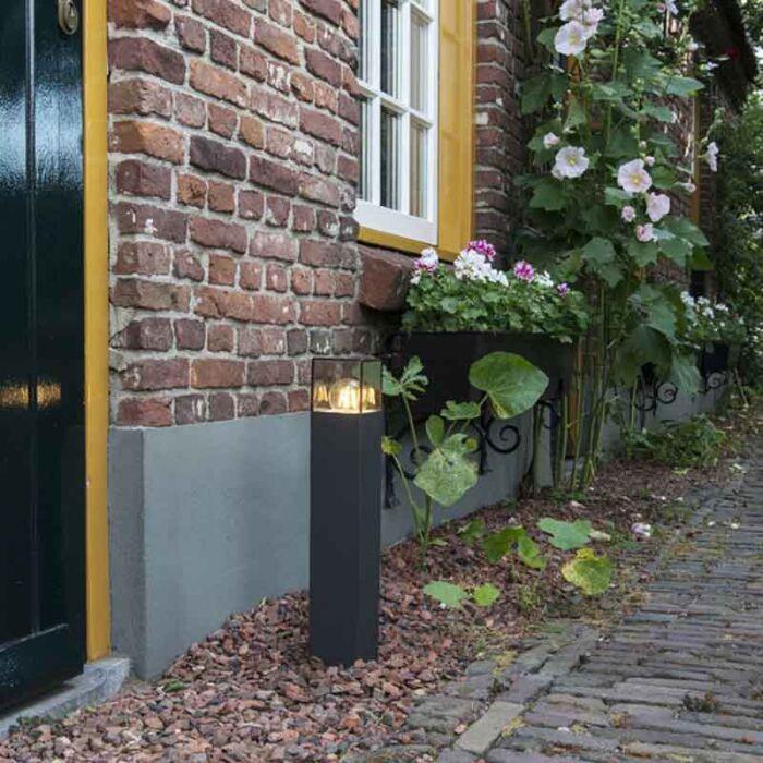 Moderne-Außenstehleuchte-50-cm-anthrazit-IP44---Dänemark