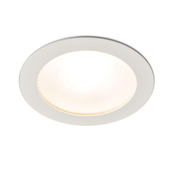 Moderner-Einbaustrahler-weiß-inkl.-LED---Invaser-15W