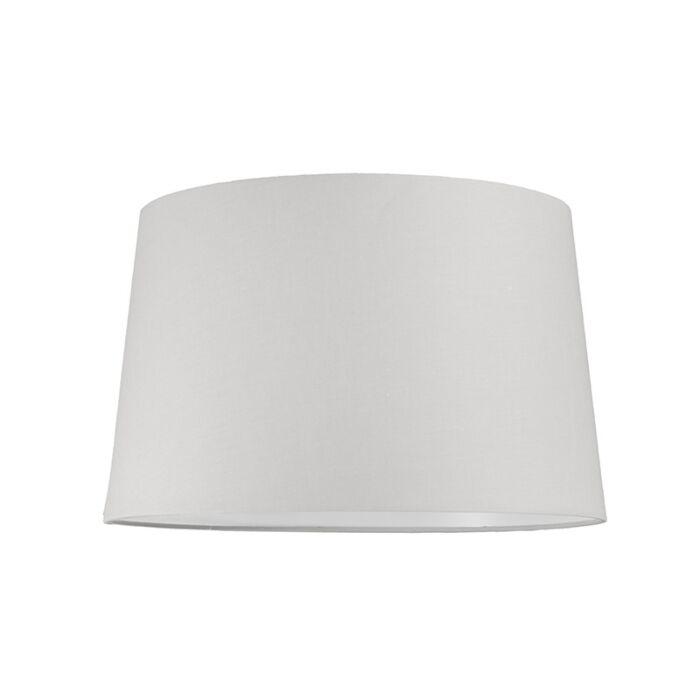 Lampenschirm-40cm-rund-SU-E27-weiß