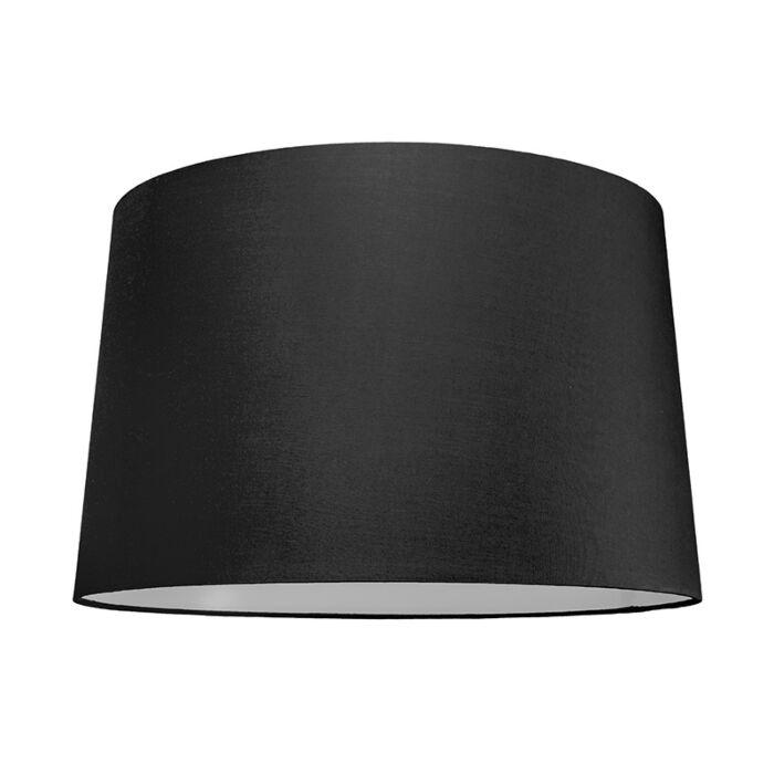 Lampenschirm-50cm-rund-SU-E27-schwarz