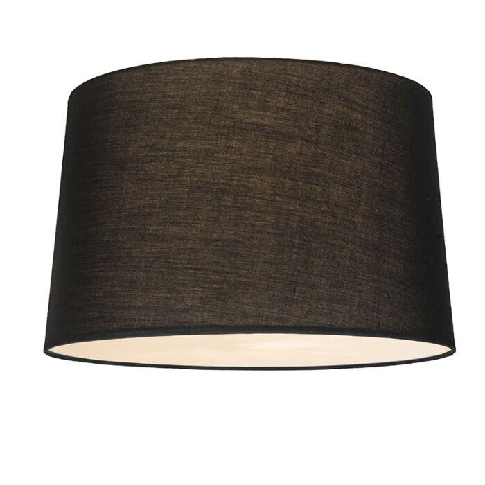 Deckenleuchte-Combi-50cm-schwarz-mit-Blende