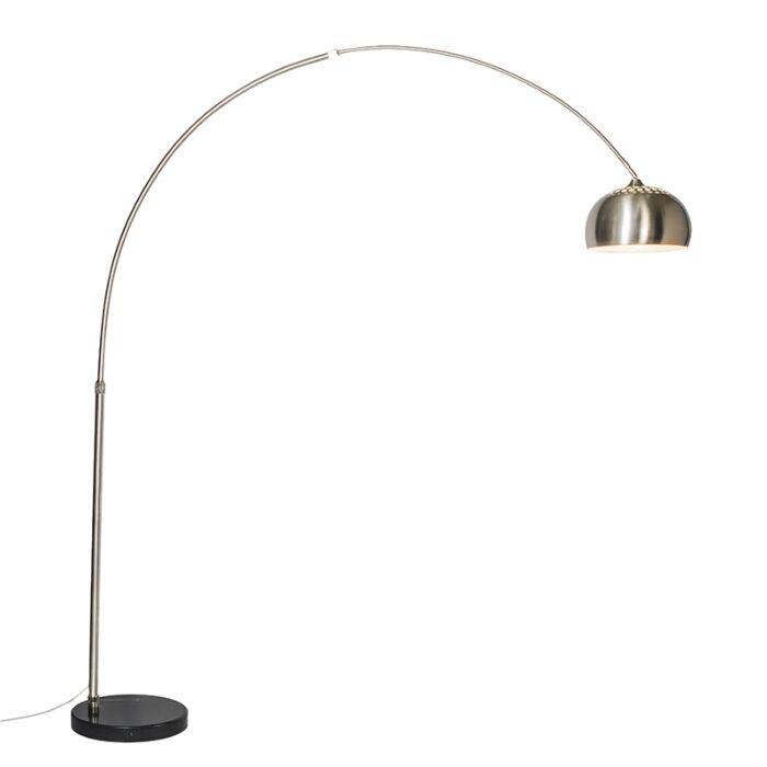 Bogenlampe-Stahl-Metallschirm-33-cm---XXL